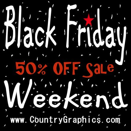 BLACK FRIDAY GRAPHICS SALE COUPON
