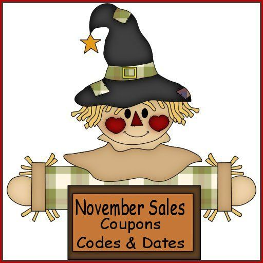November Country Graphics Clip Art Sale - Country Graphics™
