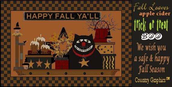 Happy Fall Holidays From Country Graphics™
