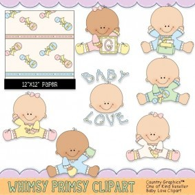 Baby Love Clipart 1