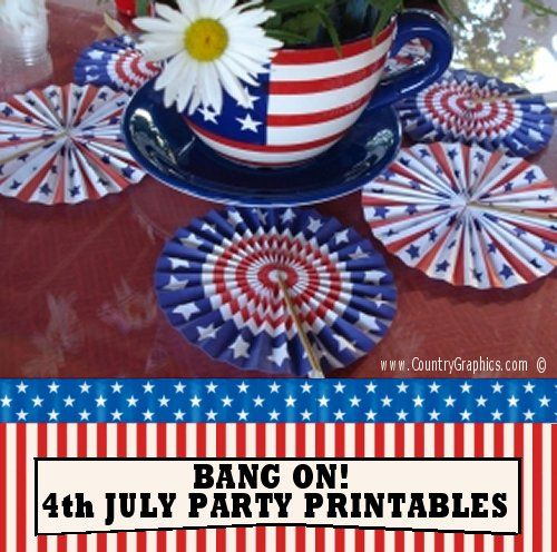 4th-July-Party-Printables-Patriotic-Fans  Th Of July Newsletter Templates Free on 4th of july menu template, 4th of july flag borders, 4th of july flyers free, 4th of july themes free, 4th of july church bulletin covers free, 4th of july clipart free, july 4th border templates free, 4th of july border template, 4th of july fonts free, 4th of july labels free, 4th of july banners free,