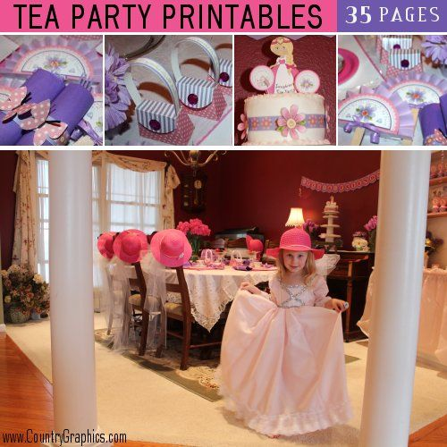 Tea Party Printables