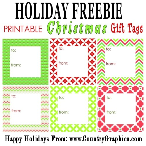 "image about Free Printable Christmas Name Tags identify Absolutely free PRINTABLE Innovative Family vacation Reward TAGS - Nation Graphicsâ""¢"