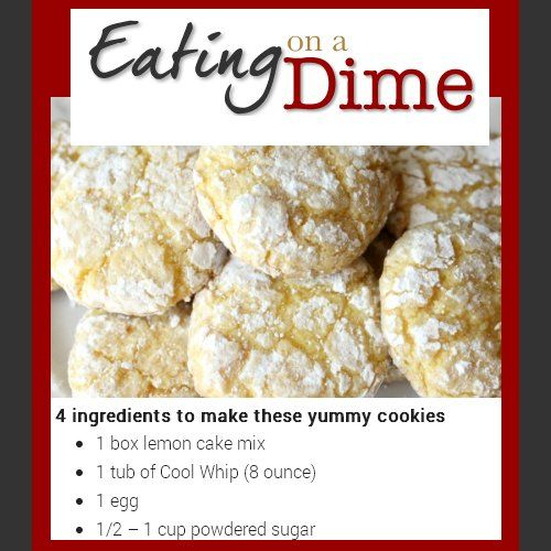 Lemon Cool Whip Cookies Recipe Country Graphics