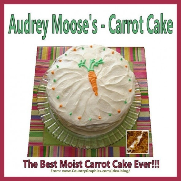Audrey Moose Carrot Cake This is the best moist carrot cake ever!!!