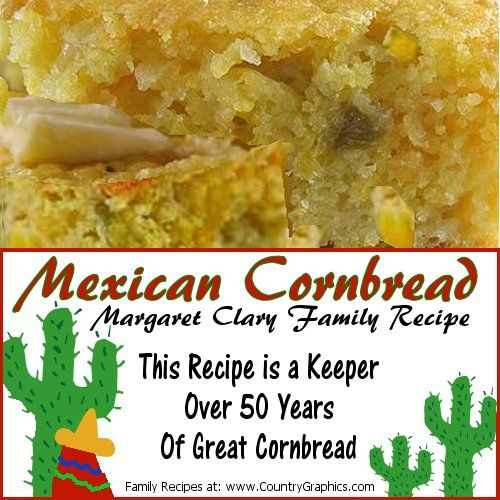 Mexican Cornbread by Margaret Clary