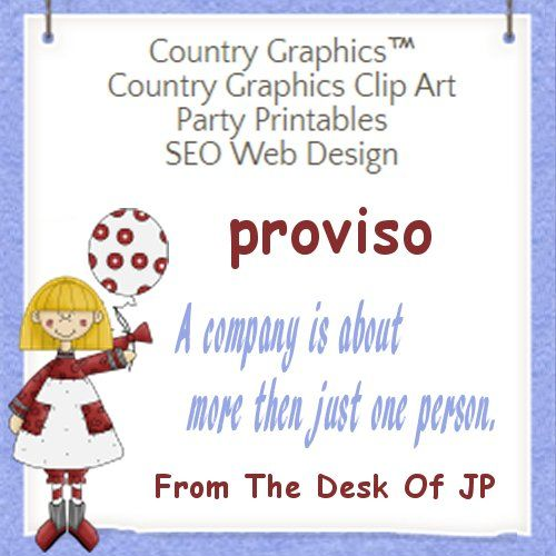 proviso - A company is about more then just one person.