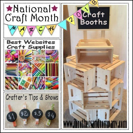 National Craft Month Country Graphics